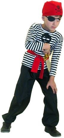 Костюм пирата своими руками для мальчика на скорую руку